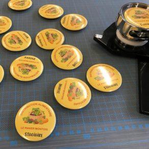 Fabrication de badges Mont de Marsan