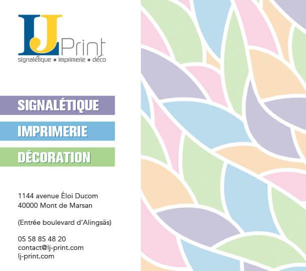 Catalogue imprimerie, signalétique et décoration à Mont de Marsan
